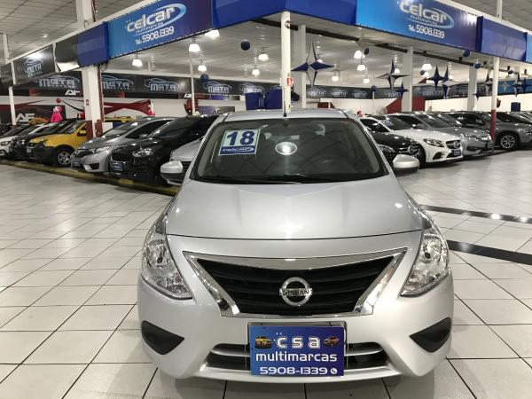 foto do veículo Nissan Versa 1.6 16V FLEX SV 4P XTRONIC/ CÂMBIO CVT 1.6