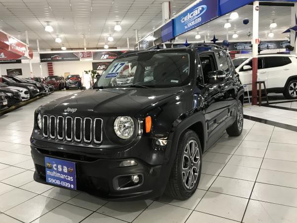 foto do veículo Jeep Renegade 1.8 16V FLEX LONGITUDE 4P AUTOMÁTICO 1.8